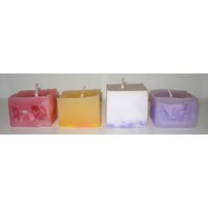 Käsinvalettu kynttilä